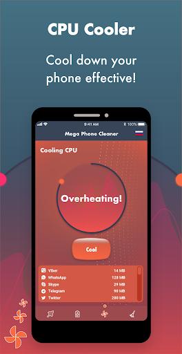 Mega Phone Cleaner screenshot 2