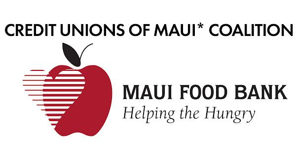 Credit Unions of Maui Coalition Food Drive with Maui Food Bank