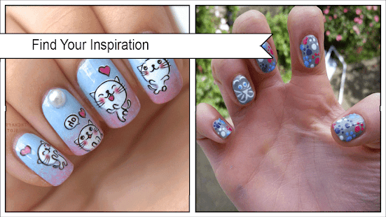 Cute Mustache Cat Nail Design Apps On Google Play