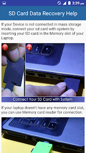 SD Card Data Recovery Help screenshot 2