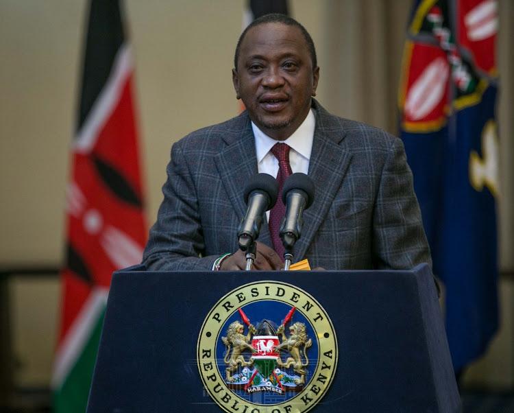 Uhuru mourns Jonathan Moi