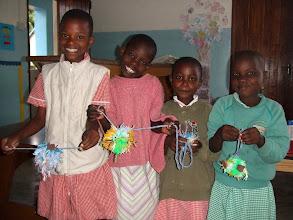 Photo: children enjoying their toys