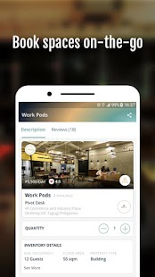 GoSPCE: Shared Work Space & Shared Play Space App- screenshot thumbnail