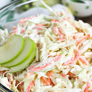 Creamy Apple Slaw Recipe