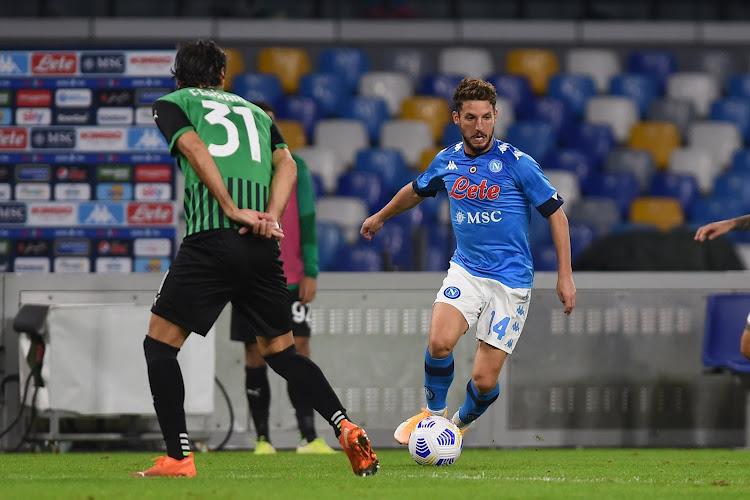 Serie A : le Napoli et Mertens surpris à domicile par Sassuolo