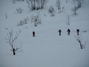 Photo: 4 scialpinisti ci lasciano per un percorso diverso