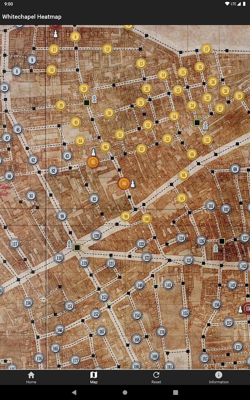 Whitechapel Heatmap Screenshot 6