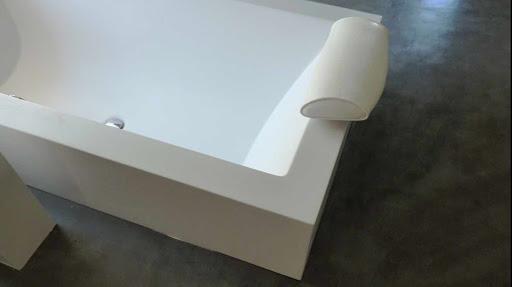 enduit beton cire dans salle de bain