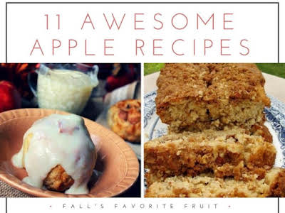 11 Awesome Apple Recipes