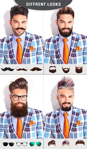 Men Mustache And Hair Styles 2.1 screenshots 1