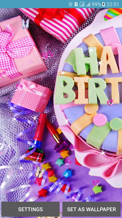 Happy Birthday Live Wallpaper Android Aplicaciones Appagg