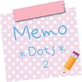Sticky Memo Notepad *Dots* 2