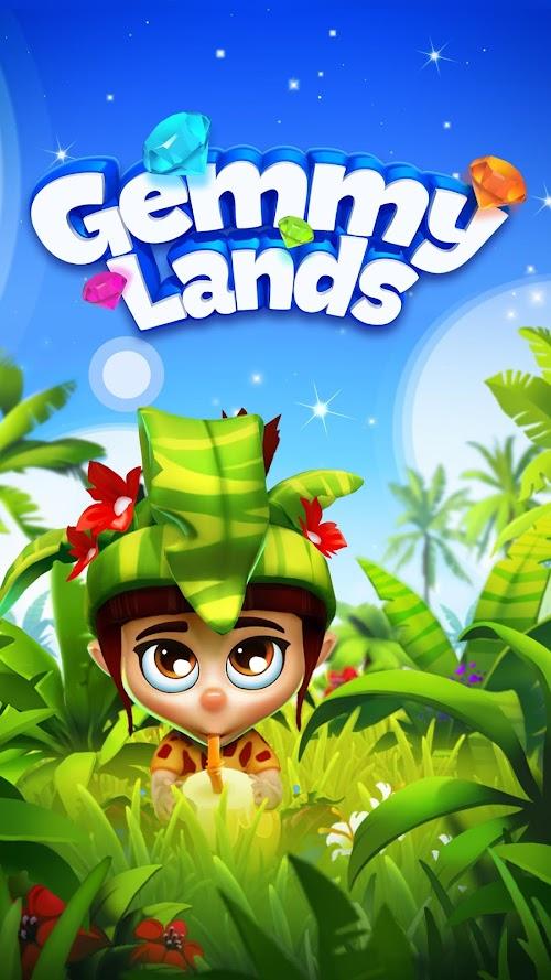 Screenshot 1 Gemmy Lands - Match-3 Games 8.32 APK MOD