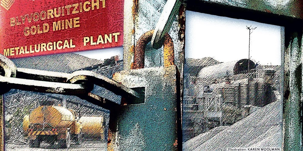 Liquidation of Blyvooruitzicht mine holds lessons for fate
