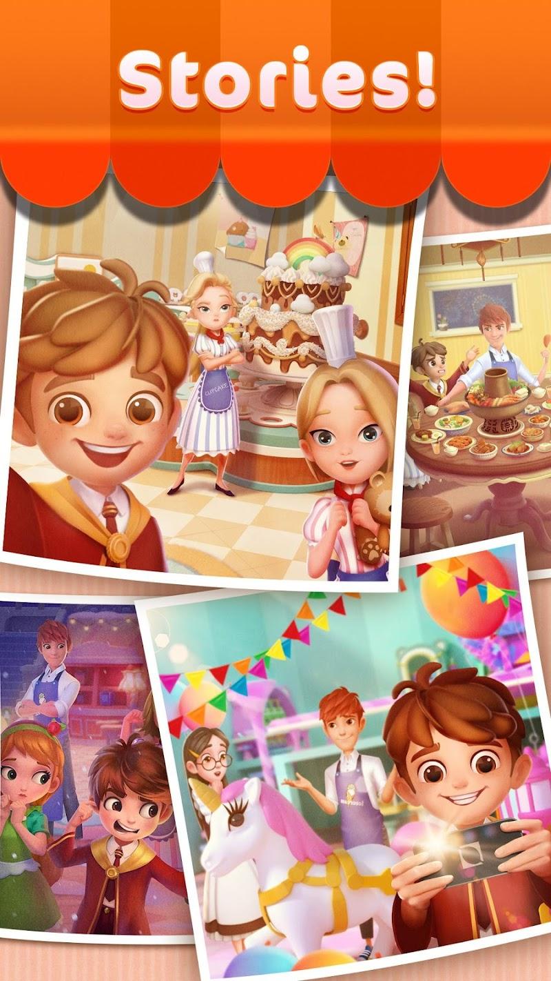 Jellipop Match: Open your dream shop! Screenshot 3