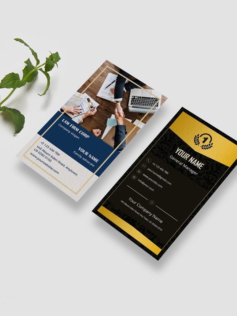 Business Card Maker - Branding Template Editor Screenshot 8