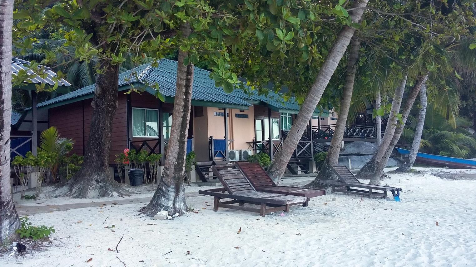 Camere front beach del Tuna Bay