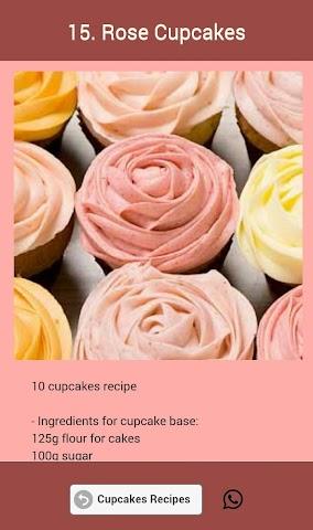 android Cupcakes Recipes Screenshot 21