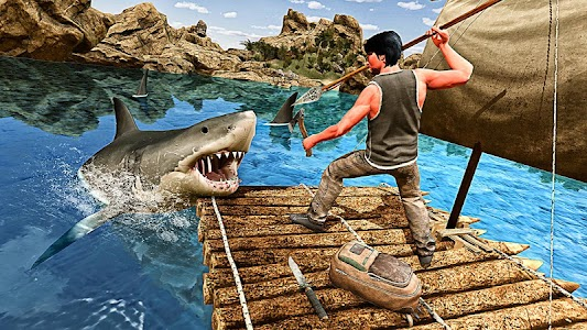 Raft Survival Hero 1 6 APK for Android