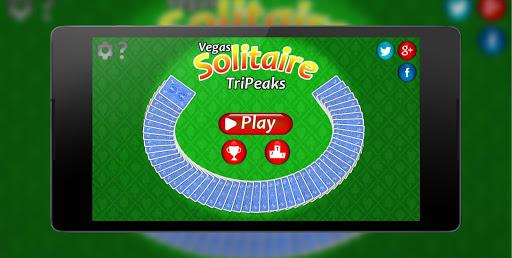 TriPeaks Solitaire ♣ Free Card Game  captures d'écran 3