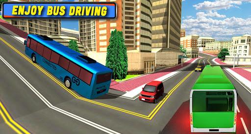 Code Triche Simulateur de bus urbain 2019: jeu de conduite mod apk screenshots 3