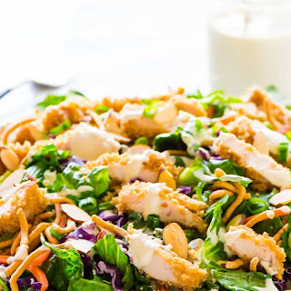 Applebee's Oriental Chicken Salad.