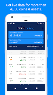 CoinTracking Screenshot