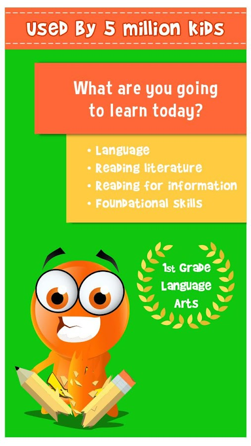 iTooch 1st Grade Language Arts- screenshot