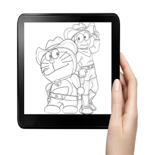 Download drawing easy nobita and friends For PC Windows and Mac apk screenshot 7
