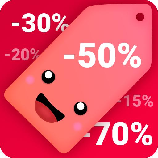 Sales & Deals - Target, CVS, Costco, Kroger Icon