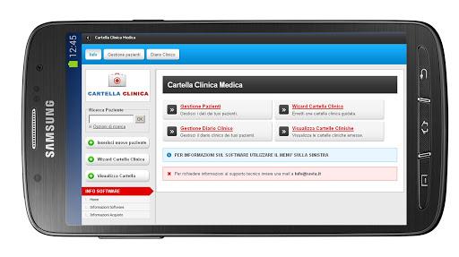 Cartella Clinica Tablet Cloud