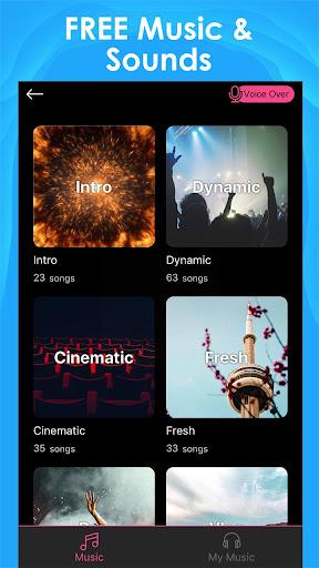 Intro Maker for Youtube -créateur de vidéo d'intro screenshot 4