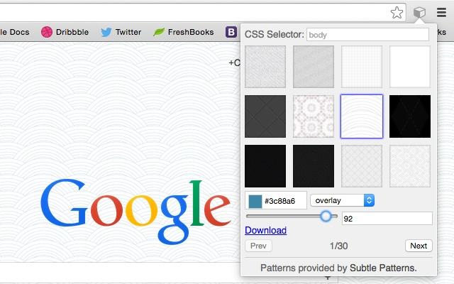 Background Pattern Generator