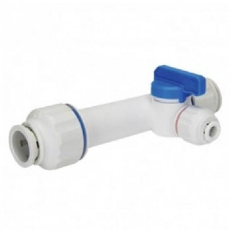 15mm Slip T water filter connector 1/4""