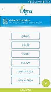 Digna App - náhled