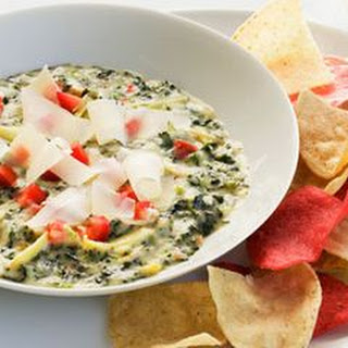 Healthier Spinach and Artichoke Dip