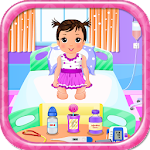 Baby treatment girls games Icon