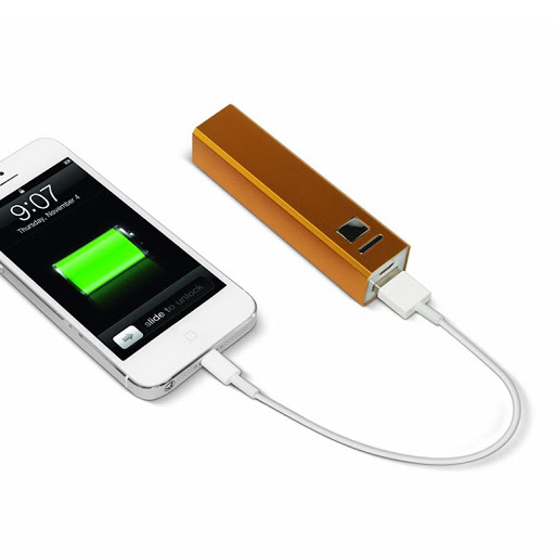 Metal Tube Power Bank Charger