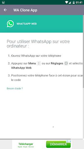 Clone App for whatsapp screenshot 4