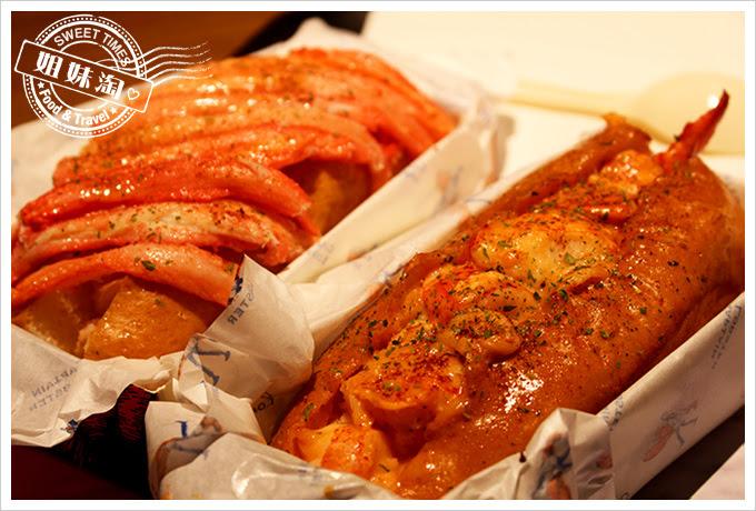 Captain Lobster快閃店菜色