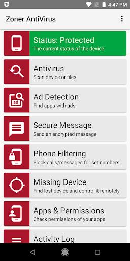 Zoner AntiVirus 1.15.2 screenshots 1
