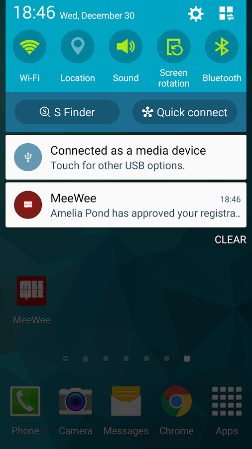 MeeWee- screenshot