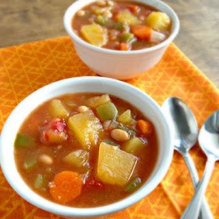 Slow Cooker Pumpkin Stew.