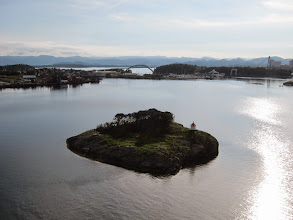 Photo: Arriving in Stavanger