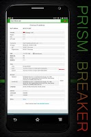 Screenshot of VPN App Prism Breaker 4 free