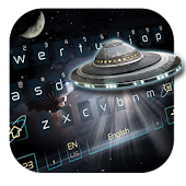 ufo alien metal space keyboard et roswell aircraft