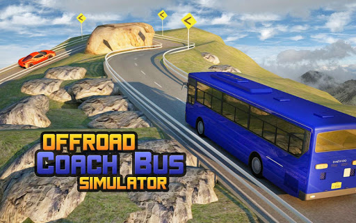 Offroad Coach bus simulator 17 - Real Driver Game 1.4 screenshots 1