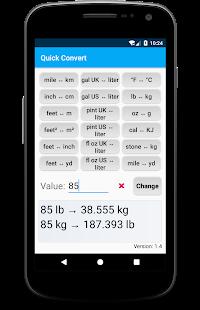 Quick Converter Screenshot