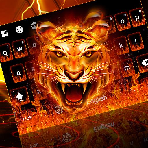 Fire Tiger Keyboard Theme
