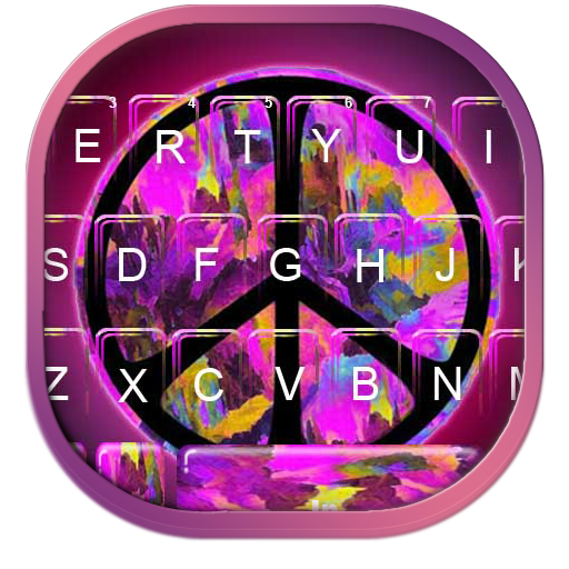 Purple Peace Keyboard Theme Icon